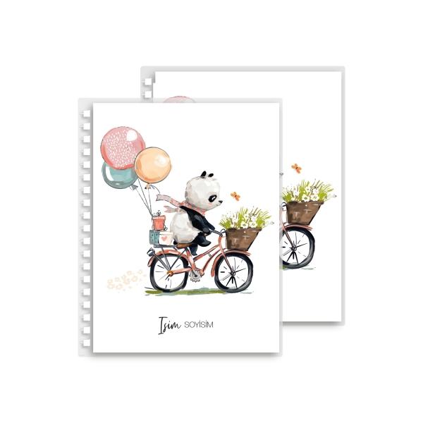 Romantik Panda Yedek Kapak