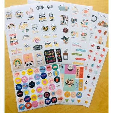 Klasik Miya 2021 Sticker Seti