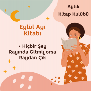 Miya Kitap Kulübü - Eylül Ayı - Kişisel Dönüşüm Atölyesi Aylık Üyelik