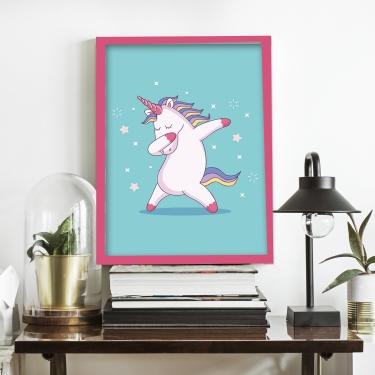Crazy Unicorn-Turquois