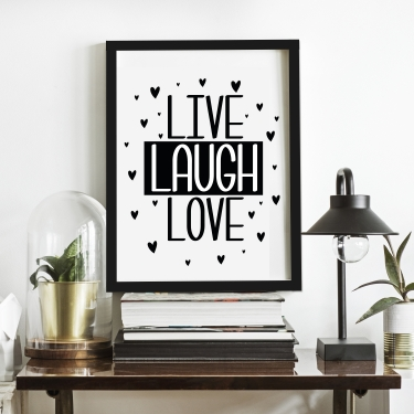 Lıve-Laugh-Love