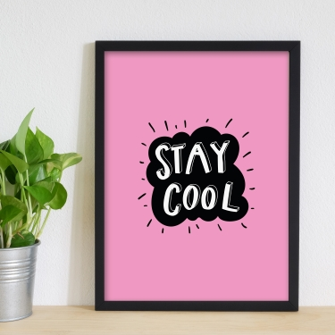 Stay Cool-Pembe