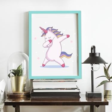 Çılgın Unicorn-Beyaz