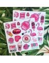 Flamingo 8'li Sticker Seti