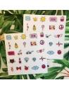 XOXO 8'li Sticker Seti