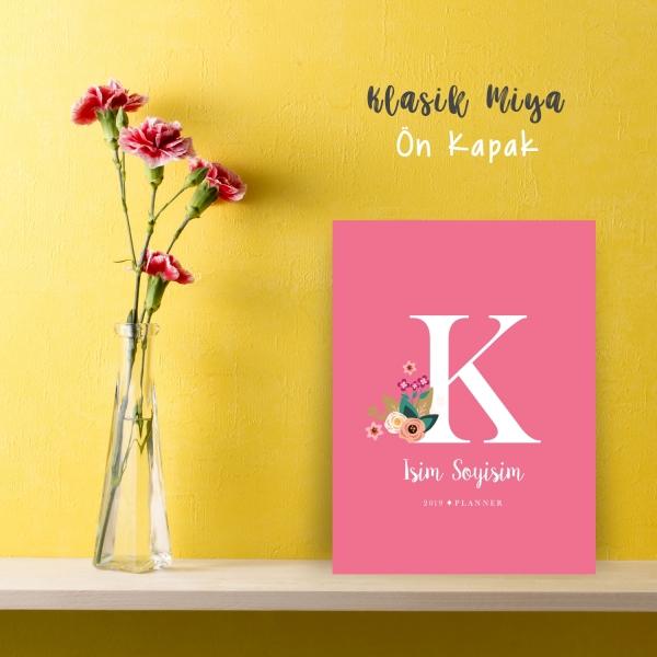 "Pembe Alphabet Serisi ""K"""
