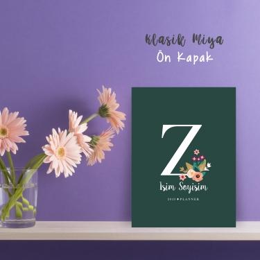 """Yeşil Alphabet Serisi """"Z"""""""