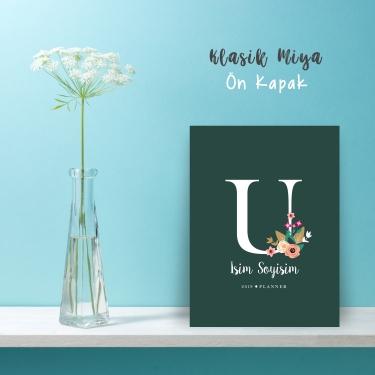 "Yeşil Alphabet Serisi ""U"""
