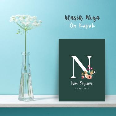 """Yeşil Alphabet Serisi """"N"""""""