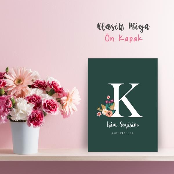 """Yeşil Alphabet Serisi """"K"""""""