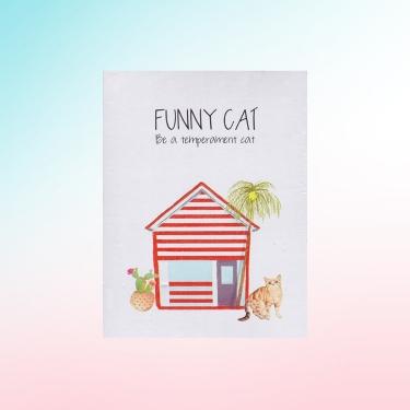 FUNNY CAT KILITLI DEFTER