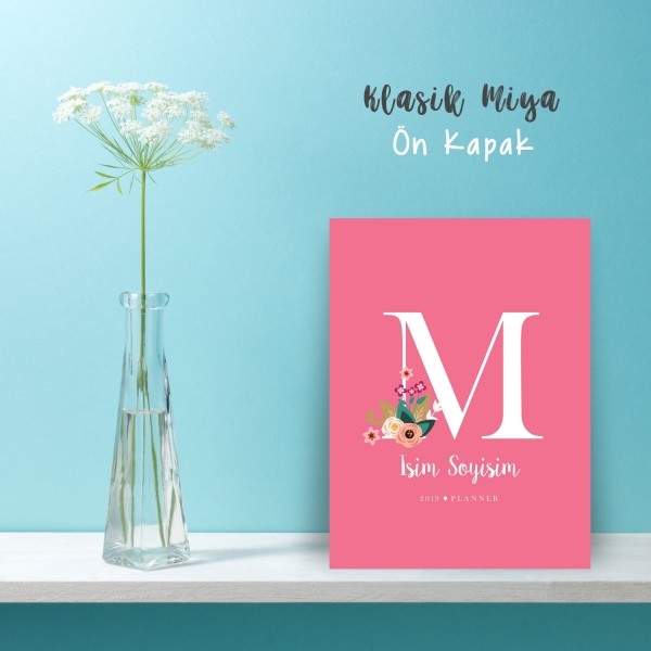 "Pembe Alphabet Serisi ""M"""
