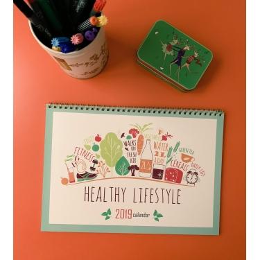 Sağlıklı Yaşam Takvim Planlayıcı