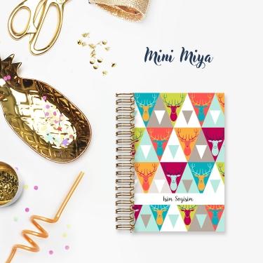 Renkli Geyikler - Mini Miya