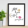 Coffee & Lipstick