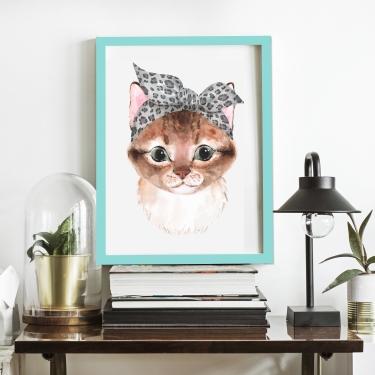 Fularlı Kedicik