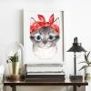 Kırmızı Fularlı Kedicik