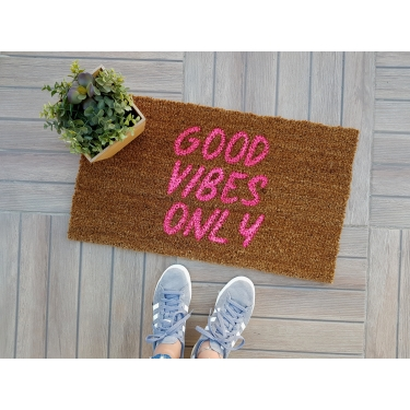 Good Vıbes Only Paspas