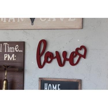 Love Red Duvar Aksesuarı
