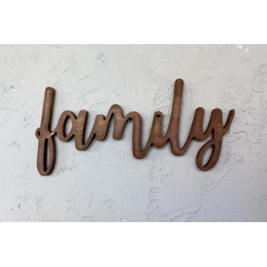 Family Ceviz Duvar Aksesuarı