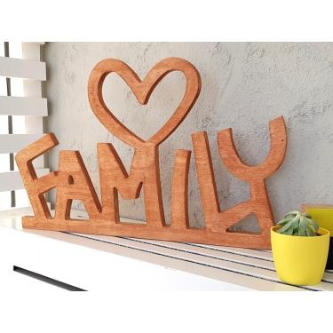 Family Naturel Duvar Aksesuarı