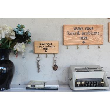 Mini Leave Your Keys Anahtarlık