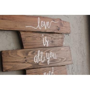 Love is All you Need Ağaç Tablo
