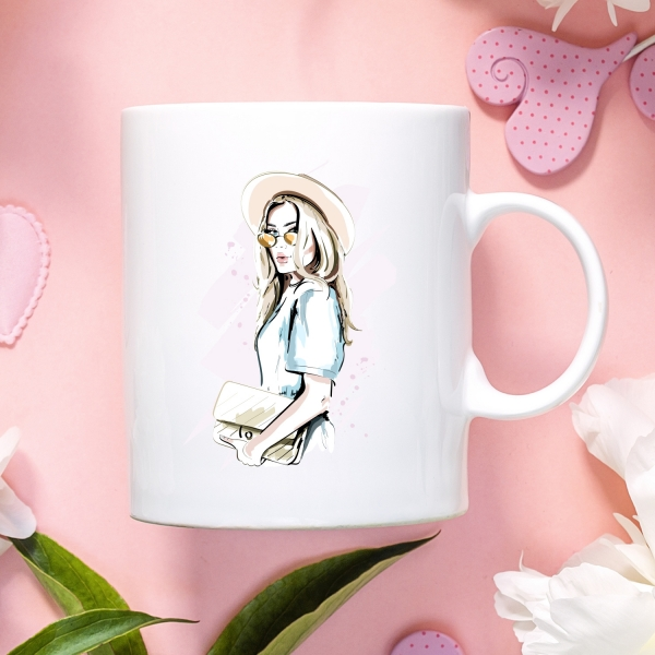 Chic Girl Mug