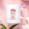 Pink Girl Mug