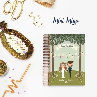 Save The Date - Mini Miya