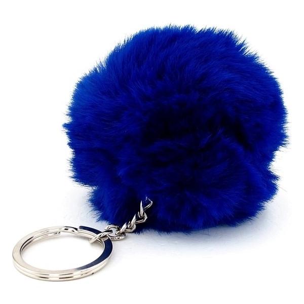 Mini Gece Mavisi Peluş Anahtarlık
