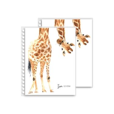 Tatlı Zürafa Yedek Kapak