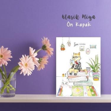 Okuyan Kedi by Esra Eba